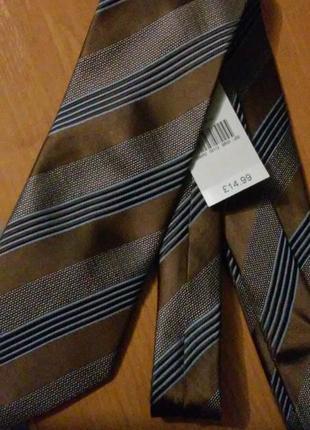Новый шёлковый галстук tie rack
