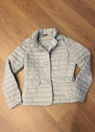 Идеальный пиджак-пуховик sisley!!!