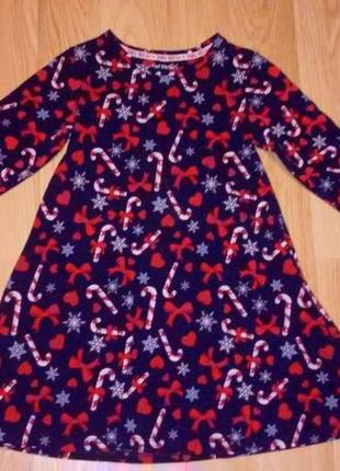 Новогоднее платье 6-7 лет