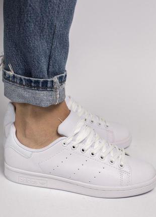 Adidas stan smith cтильные кроссовки адидас стен смит весна\ле...