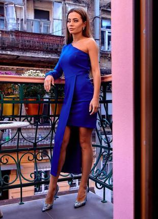 Платье вечернее синий