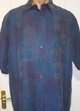 Шёлковая рубашка. натуральный 100% шёлк