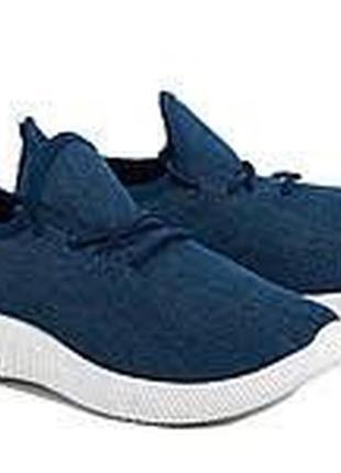 Летние текстильные кроссовки под джинс