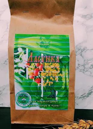 Чай травяной против сахарного диабета Ласунка