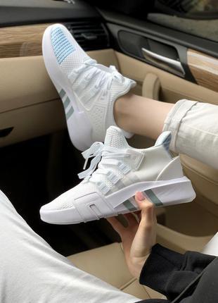 Adidas equipment bask adv white cтильные кроссовки адидас экви...