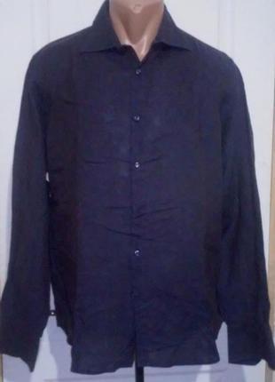 Рубашка льняная. 100% лён.