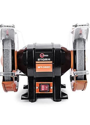 Станок точильный настольный STORM 400 Вт,,INTERTOOL WT-0820