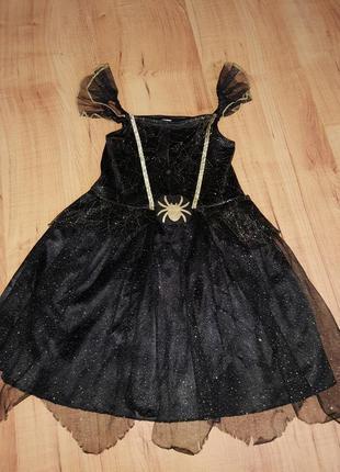 Карнавальное платье га хэллоуин на 2-3 годика