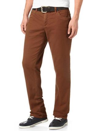 Брюки  джинсы чинос мужские стрейчевые marks&spencer