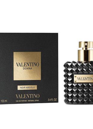Valentino Donna Noir Absolu. Парфюмированная вода женская