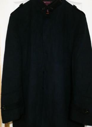 Шерстяное пальто на шикарного мужчину. пог 79