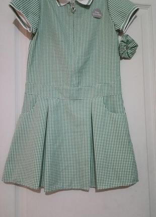 Школьное платье джордж.7-8лет 122-128см