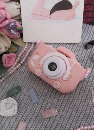 Лучший подарок! Цифровой фотоаппарат для детей 20Мп с селфи камер