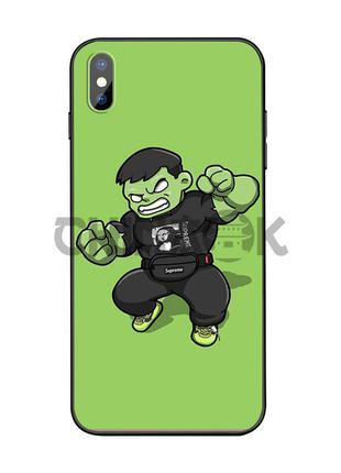 Чехол Marvel Hulk для iPhone XR
