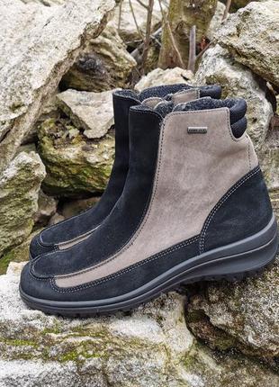 Кожаные зимние ботинки сапоги ara 41 р. оригинал