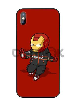 Чехол Marvel Iron Man для iPhone XR
