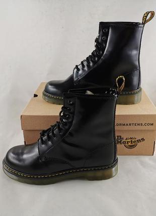 Зимние ботинки dr. martens кожа 💯%