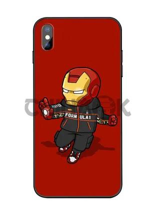 Чехол Marvel Iron Man для iPhone XS MAX