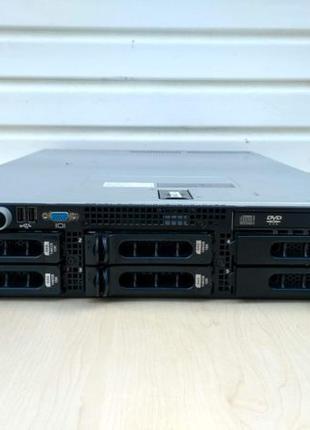 Сервер Dell PowerEdge 2950, Intel Quad-Core Xeon E5310(2шт.), ...