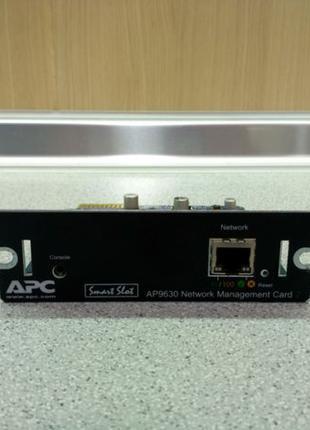Карта управления и мониторинга ИБП, APC AP9630