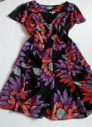 Платье мини 48 размер бюстье принт скидка распродажа нарядное ...