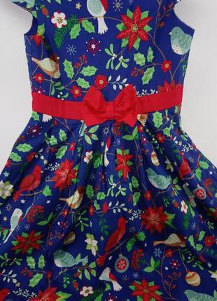 Новогоднее платье . на 9-10 лет англия