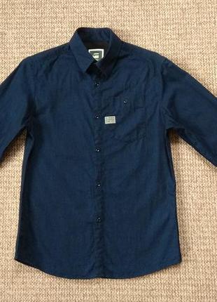 G-star raw рубашка джинсовая оригинал (m)