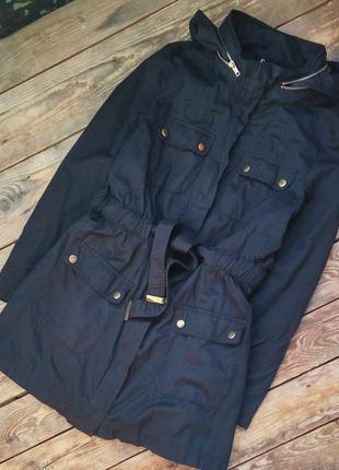 Ветровка тренчкоат пальто деми куртка h&m размер m-l / us10 /e...
