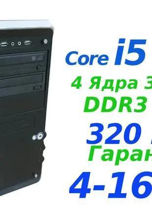 Системный Блок i5 Intel, 4 ядра по 3,4 - s1155