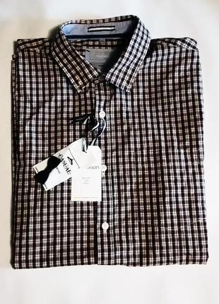 Рубашка с коротким рукавом . moddison