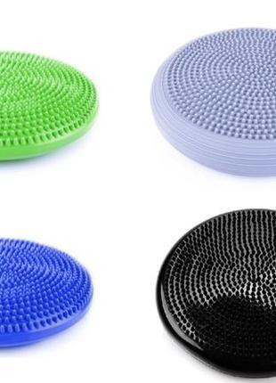 Балансировочная подушка массажная, балансировочный диск для фи...