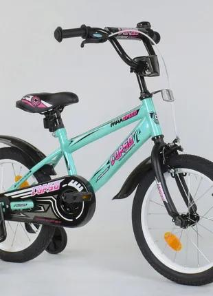 """Детский велосипед 16 дюймов """"Corso"""" Aerodynamic EX - 16 N 5171, б"""