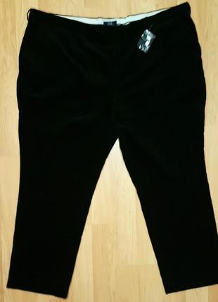 Вельветовые брюки на богатыря. пот 68,5