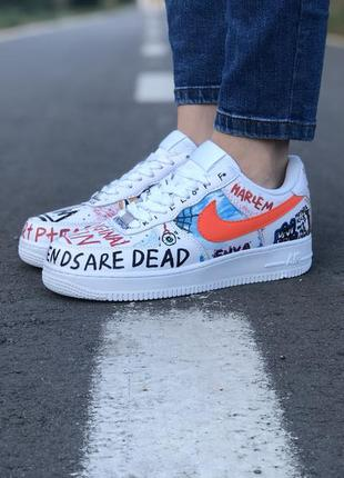 Шикарные кроссовки 🍒custom pauly x vlone pop nike air force 1 ...