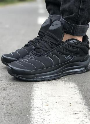 Шикарные кроссовки 🍒nike air max 97 plus tn black🍒