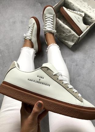 Шикарные кроссовки 🍒puma x han kjobenhavn🍒