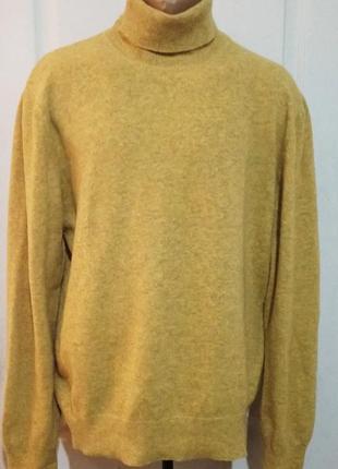 Шерстяной свитер гольф