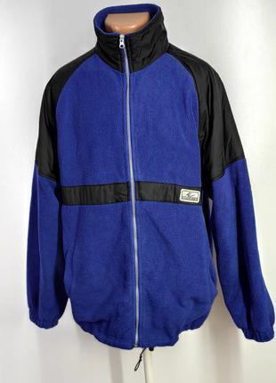 Мужская флисовая куртка размер 50
