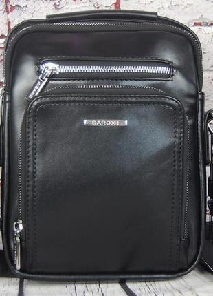 Мужская сумка с ручкой. барсетка мужская через плечо кс14