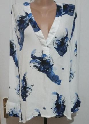 Блуза на лето. вискоза жатка