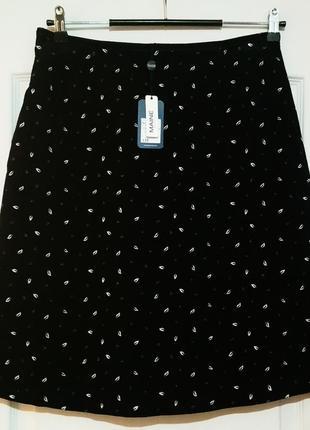 Вельветовая юбка. с бирками
