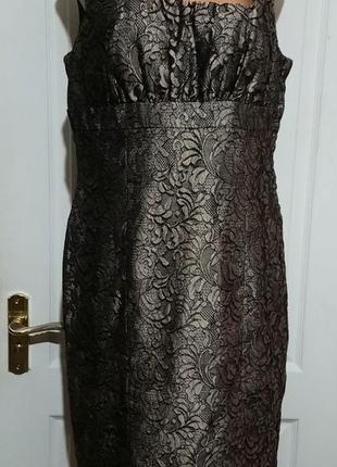 Платье сарафан. кружевное
