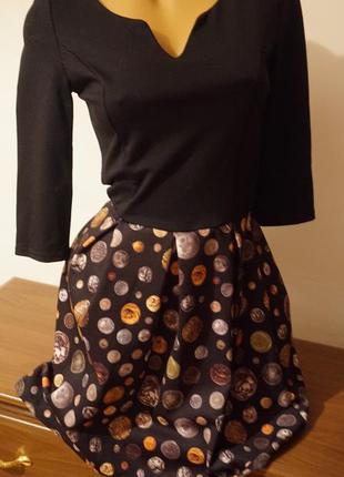 Коктейльное новое платье размер с