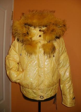 Куртка пуховик, утеплитель утиный пух. 46-48 наш