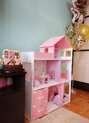 Акция! Кукольный домик Дом для кукол Барби Ляльковий Будинок