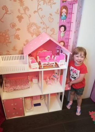 Кукольный домик Дом для кукол БАРБИ лол lol barbie