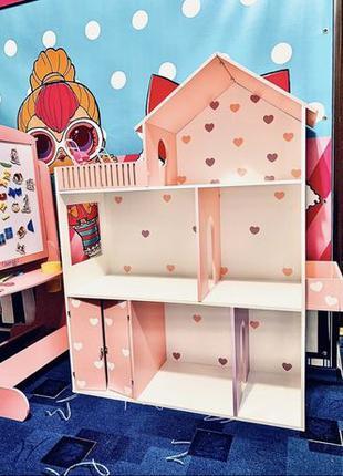 Акция!!Кукольный домик для барби Домик для кукол / Ляльковый буди