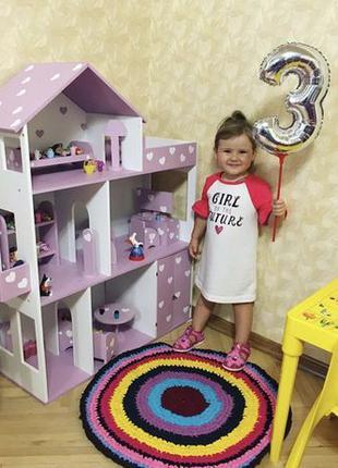 Акция!! Развивающий кукольный Домик ЭКО! Дом для кукол Барби