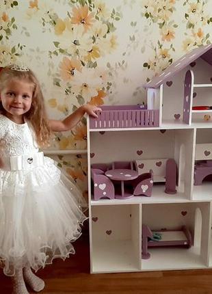 Дом для кукол Барби Кукольный домик Ляльковий будинок