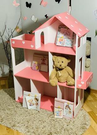Кукольный домик Дом для кукол лол Барби Домик